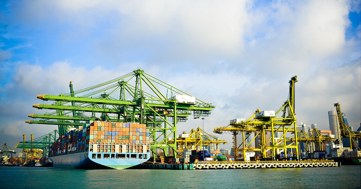Ports locator guide for fuels and lubricants | ExxonMobil marine